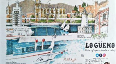 Ejemplar del salvamantel dedicado a D. Fernando Dols, propietario de la barca que se representa