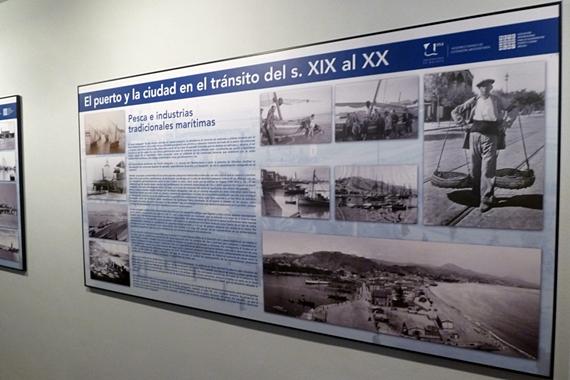 """Exposición """"El puerto y la ciudad en el tránsito del siglo XIX al XX"""" (Málaga)"""