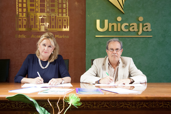Convenio Fundación Bancaria Unicaja - Amigos de la Barca de Jábega