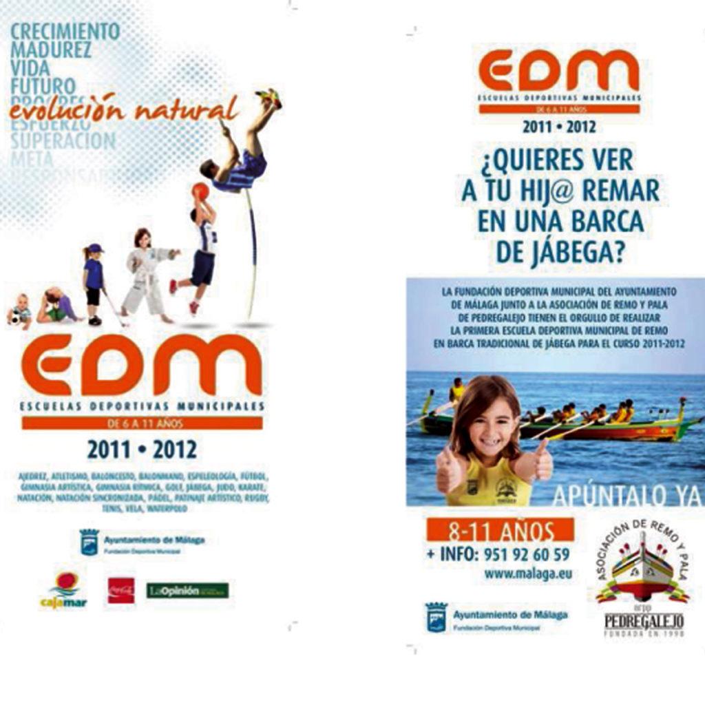Remo para niñ@s en la Asociación de Remo y Pala Pedregalejo