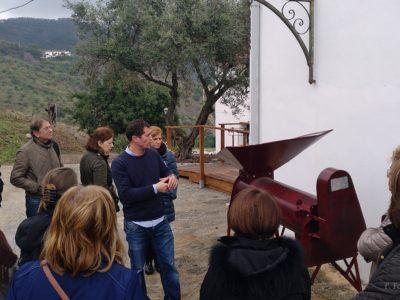 Daniel nos dice como todavía hay antigua maquinaria que se sigue utilizando.