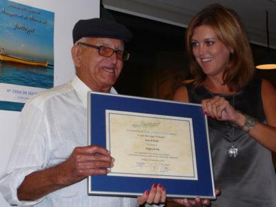 El Moreno con Carmen Casero